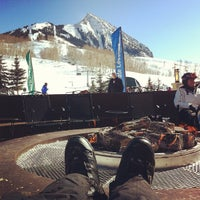 Photo taken at Crested Butte Mountain Resort by Eric on 2/8/2013