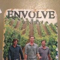 Снимок сделан в Envolve Winery пользователем Shan S. 9/8/2013