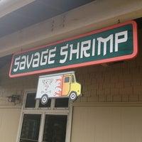 Foto tomada en Savage Shrimp por Charlotte R. el 4/12/2013