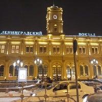 Снимок сделан в Ленинградский вокзал (ZKD) пользователем Nikita S. 3/25/2013