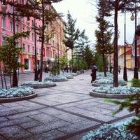 Снимок сделан в Андреевский бульвар пользователем Ксения 9/25/2012
