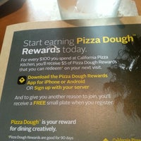 Photo Taken At California Pizza Kitchen At Boca Raton By Carlos D. On 7/