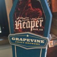 8/26/2015 tarihinde Ed H.ziyaretçi tarafından Grapevine Craft Brewery'de çekilen fotoğraf