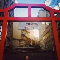 Снимок сделан в Fumisawa Sushi пользователем Евгения К. 4/10/2015