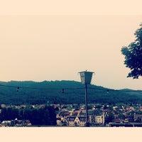 Das Foto wurde bei Greiffenegg Schlössle Restaurant von Nika T. am 8/6/2013 aufgenommen