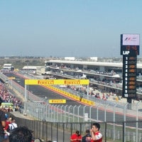 Foto tirada no(a) Circuit of The Americas por Mike I. em 11/18/2012
