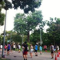 Das Foto wurde bei Suan Santi Phap von Netnapa A. am 7/6/2014 aufgenommen