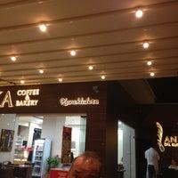 6/28/2013 tarihinde Erdem M.ziyaretçi tarafından Anka Coffee and Bakery'de çekilen fotoğraf