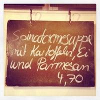 10/22/2012에 Manuel MANTU O.님이 Suppe & Salat에서 찍은 사진