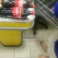 """Снимок сделан в Супермаркет """"Мой Магазин"""" пользователем Kate y. 6/1/2013"""