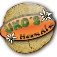 Das Foto wurde bei Uko's Hoam Alm von Sylvia U. am 4/19/2013 aufgenommen