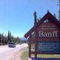 Das Foto wurde bei Town of Banff von Evan K. am 7/16/2013 aufgenommen