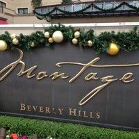 Снимок сделан в Montage Beverly Hills пользователем Викуля 12/4/2012