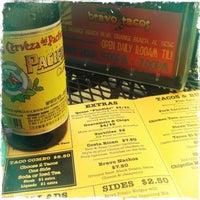 Снимок сделан в Bravo Tacos пользователем Kelley 1/13/2013