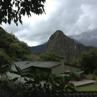 Photo prise au Belmond Sanctuary Lodge par Charlotte le3/1/2013