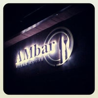 Снимок сделан в AMbar Steak House пользователем Yevhen 9/25/2012