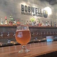 Photo prise au Boswell Brasserie Artisanale par Anderson W. le5/21/2018