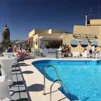 Foto diambil di Terraza Hotel Málaga Palacio oleh Carlos M. pada 5/16/2015