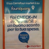 Das Foto wurde bei Carrefour Market von Stefano 🎃 am 12/19/2013 aufgenommen