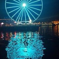Das Foto wurde bei The Seattle Great Wheel von Sergio JG 🇺🇸🗽 am 10/12/2013 aufgenommen