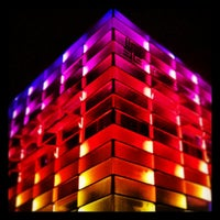 Photo taken at Ars Electronica Center by Gunther S. on 9/6/2013