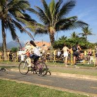 Foto tomada en Praia do Arpoador por Ricardo C. el 12/2/2012
