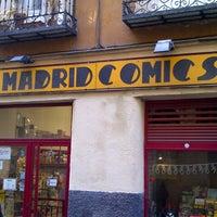 Photo prise au Madrid Comics par Mr. W. le11/3/2012