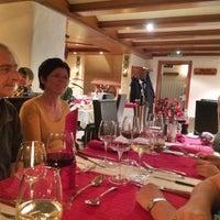 Das Foto wurde bei Hotel Europa - Restaurant Carnotzet - Saas-Fee von Beat A. am 1/1/2014 aufgenommen