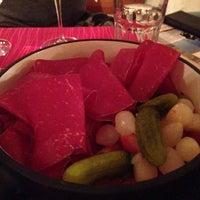 Das Foto wurde bei Hotel Europa - Restaurant Carnotzet - Saas-Fee von Beat A. am 12/19/2013 aufgenommen