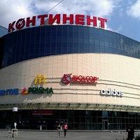 Снимок сделан в ТРК «Континент» пользователем Sitandra 7/13/2013