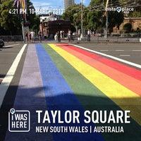 3/10/2013 tarihinde Taro M.ziyaretçi tarafından Taylor Square'de çekilen fotoğraf