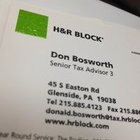H R Block Glenside Pa