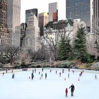 Wollman Rink Rinque De Patinação No Gelo Em Central Park