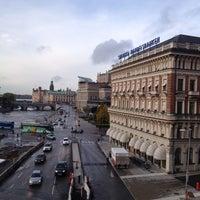 Снимок сделан в Grand Hôtel Stockholm пользователем Michael S. 10/15/2012