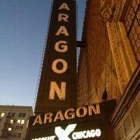 Снимок сделан в Aragon Ballroom пользователем Kenyadi 11/16/2012