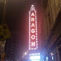 Снимок сделан в Aragon Ballroom пользователем Erick E. 10/24/2012
