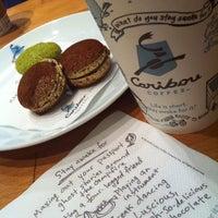 3/22/2013 tarihinde Ece G.ziyaretçi tarafından Caribou Coffee'de çekilen fotoğraf