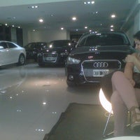Photo taken at Audi Autovisiones by Ernesto M. on 1/8/2013