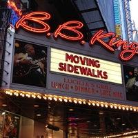 Das Foto wurde bei B.B. King Blues Club & Grill von Mike M. am 3/30/2013 aufgenommen