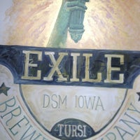 6/13/2013 tarihinde Adam L.ziyaretçi tarafından Exile Brewing Co.'de çekilen fotoğraf