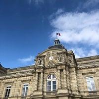 10/25/2018 tarihinde Natasha R.ziyaretçi tarafından Grand Bassin du Jardin du Luxembourg'de çekilen fotoğraf