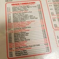 Menu China King Chinese Restaurant