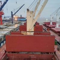 Das Foto wurde bei Cosco Zhoushan Drydocks von Ferhat C. am 10/30/2015 aufgenommen