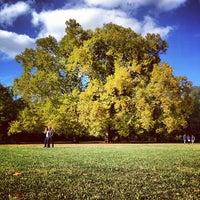 Das Foto wurde bei Margareteninsel von Szabo Z. am 10/8/2012 aufgenommen