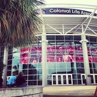 Foto tomada en Colonial Life Arena por Victoria D. el 11/4/2012