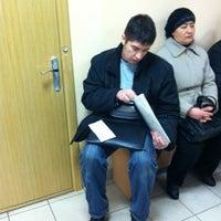 Снимок сделан в Управление Федеральной миграционной службы (УФМС) пользователем Atchariyaporn C. 12/18/2012