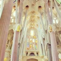 Foto tirada no(a) Sagrada Família por Josh™ ↙ em 7/1/2013