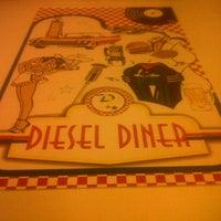 9/18/2012 tarihinde Çisem B.ziyaretçi tarafından Diesel Diner'de çekilen fotoğraf