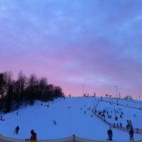 1/27/2013 tarihinde Андрей А.ziyaretçi tarafından Охта Парк'de çekilen fotoğraf