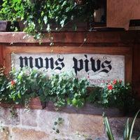 Снимок сделан в Mons Pius пользователем Oksana S. 7/9/2013